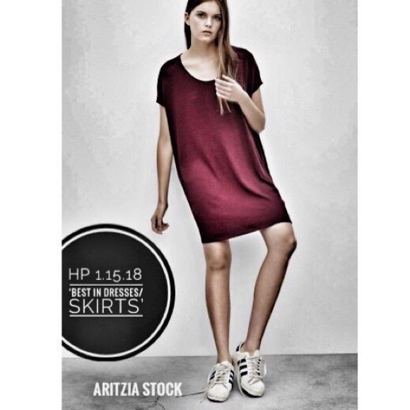 dd4b97c25fce Aritzia Dresses & Skirts - 🆕Aritzia Wilfred Free 'Lorelei' T Shirt Dress